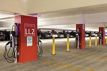 Image for The Parking Professional: Accessibility and EV Charging Stations
