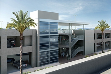 Image of Behind the curtain of a Successful Airport Progressive Design Build Project: Terminal 2 Parking Plaza at San Diego International Airport