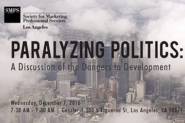 Image of Attend Paralyzing Politics: A Discussion of the Dangers to Development
