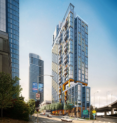 Image for 525 Harrison Apartment Tower Structured Parking