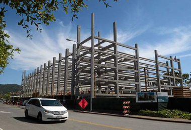 Image of Marin Independent Journal: Swift pace continues for BioMarin construction in San Rafael