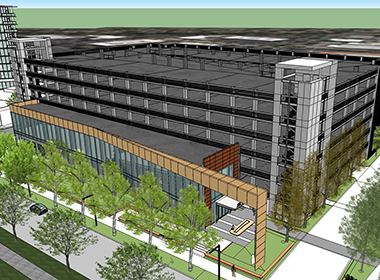Image for Menlo Gateway Parking Structure & Fitness Center