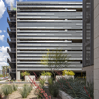 Image of Parking Magazine: Phoenix Biomedical Campus Garage Beats Desert Heat
