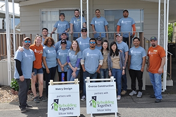 Image of Watry Design Gives Back on National Rebuilding Day