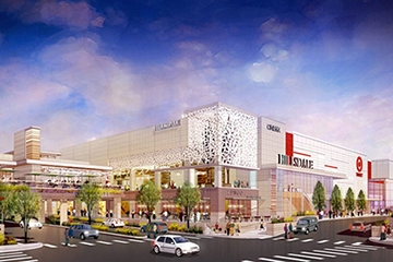 Image of Hillsdale Mall North Expansion Parking Garage Re-imagined