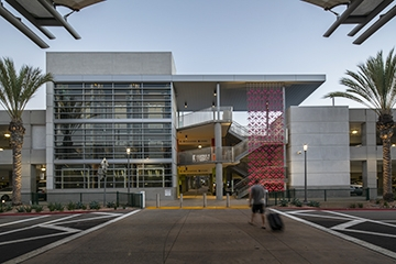 Image of San Diego International Airport  Terminal 2 Parking Plaza