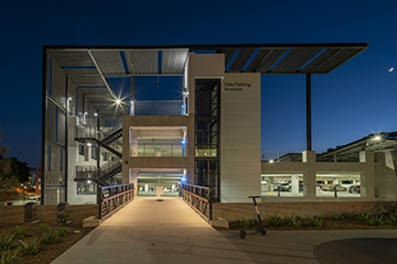 Image of UC San Diego Osler Parking Structure & Visitor's Center