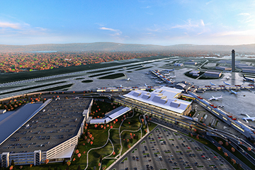 Image of Pittsburgh International Airport Multimodal Complex & Parking Garage