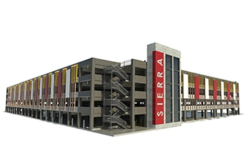 Image for Sierra College Rocklin Campus Parking Structure