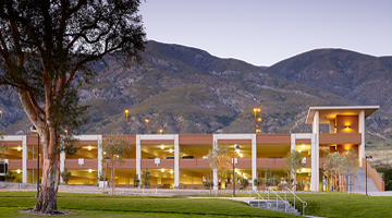 Image of CSU San Bernardino Parking Structures 101 & 102 and Parking Services Building