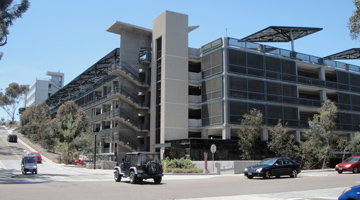 Image for UC San Diego Hopkins Parking Structure