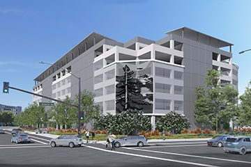 Image of San Mateo County Government Center Parking Structure