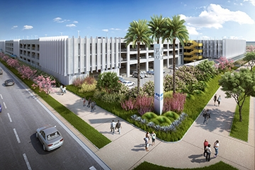 Image of LAX Intermodal Transportation Facility-West Parking Structure