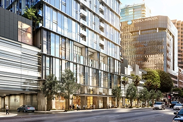 Image of 8th & Figueroa Residential Tower Parking & PARCS Study