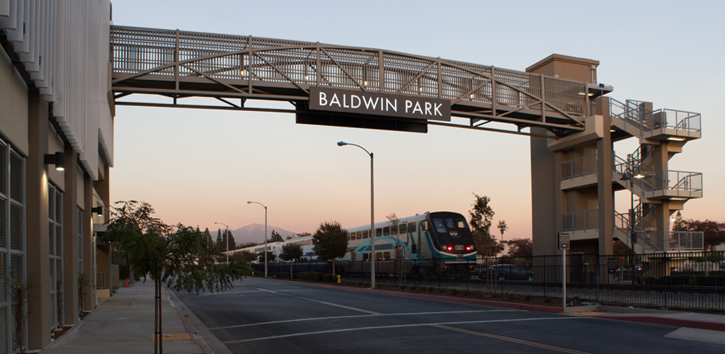 Slideshow image for Baldwin Park Transit Center Parking Structure