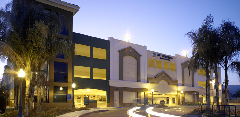 Slideshow image for Covina Metrolink Transit Complex Parking Structures