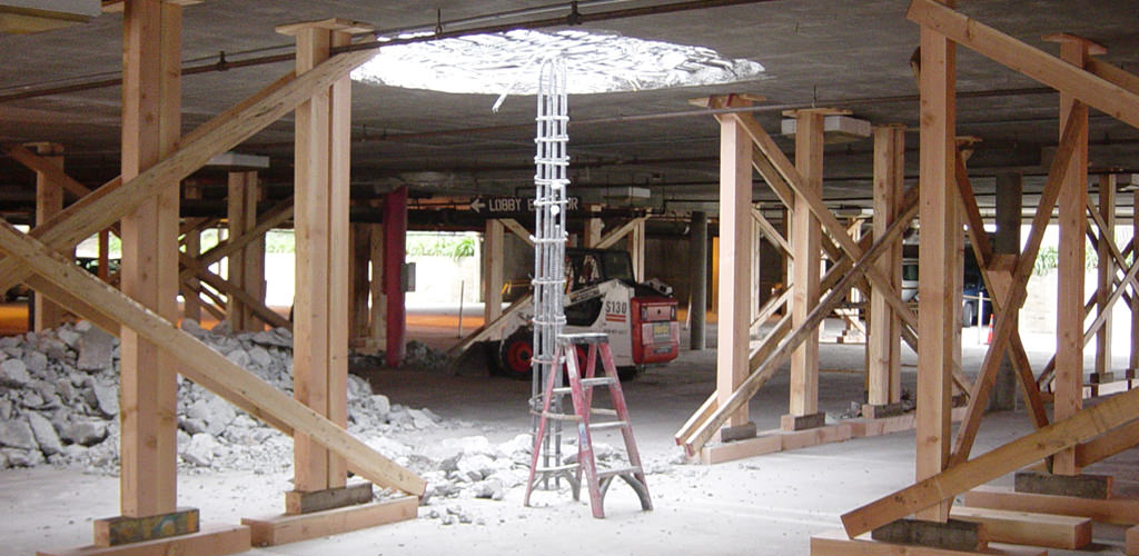 Slideshow image for Structural Analysis & Repairs of the 600 Airport Boulevard Parking Structure