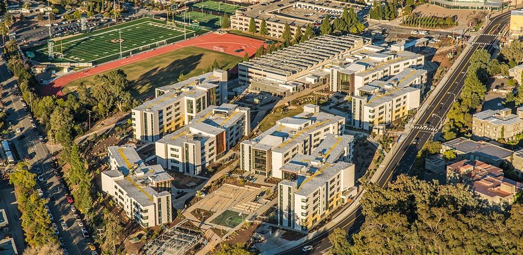 Slideshow image for Cal Poly yakʔitʸutʸu University Housing Parking Structure