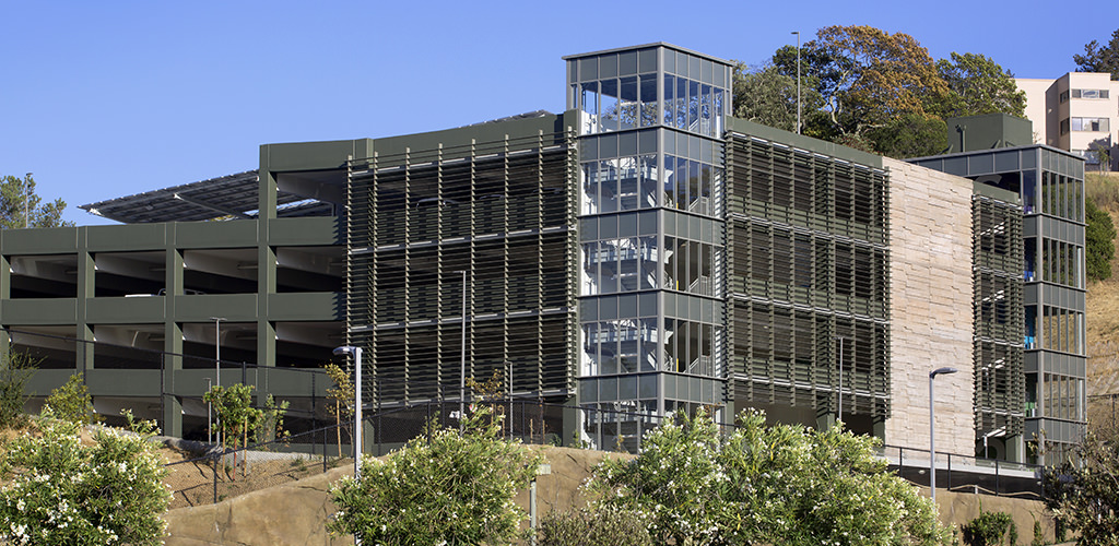 Slideshow image for Marin General Hospital Parking Structure