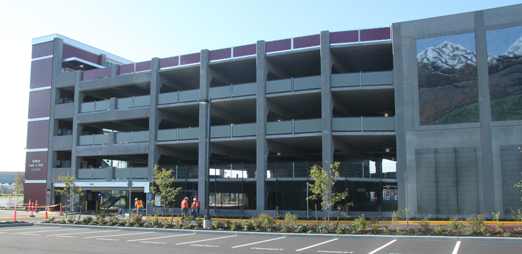 Slideshow image for Burien Park & Ride Parking Structure