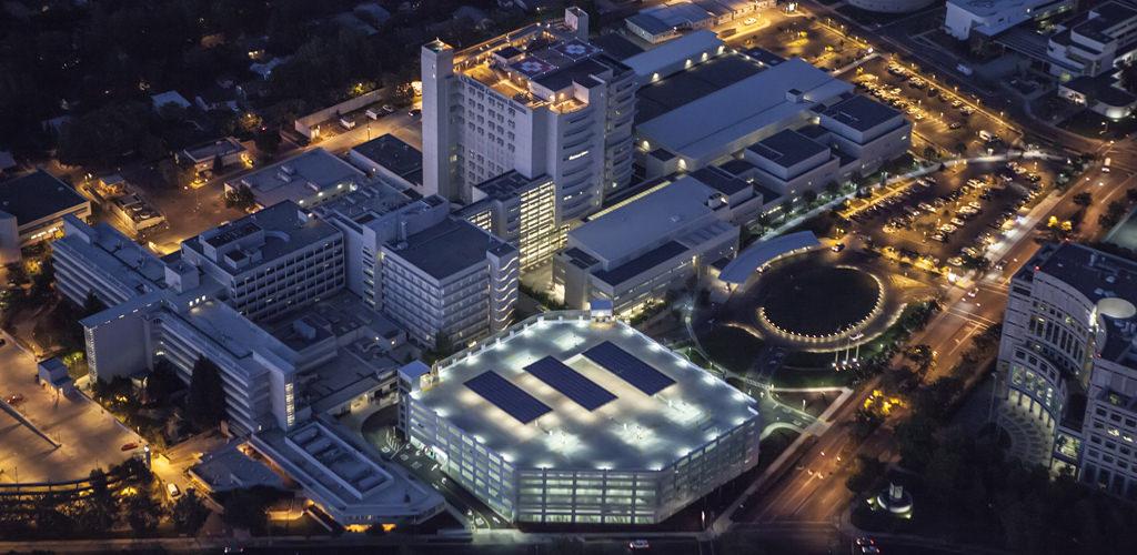 UC Davis Medical Center Parking Structure | Watry Design, Inc.