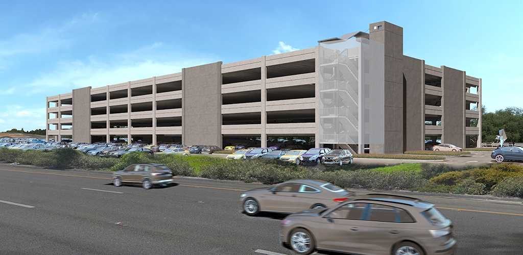 Slideshow image for Mineta San Jose International Airport Economy Lot Parking Garage