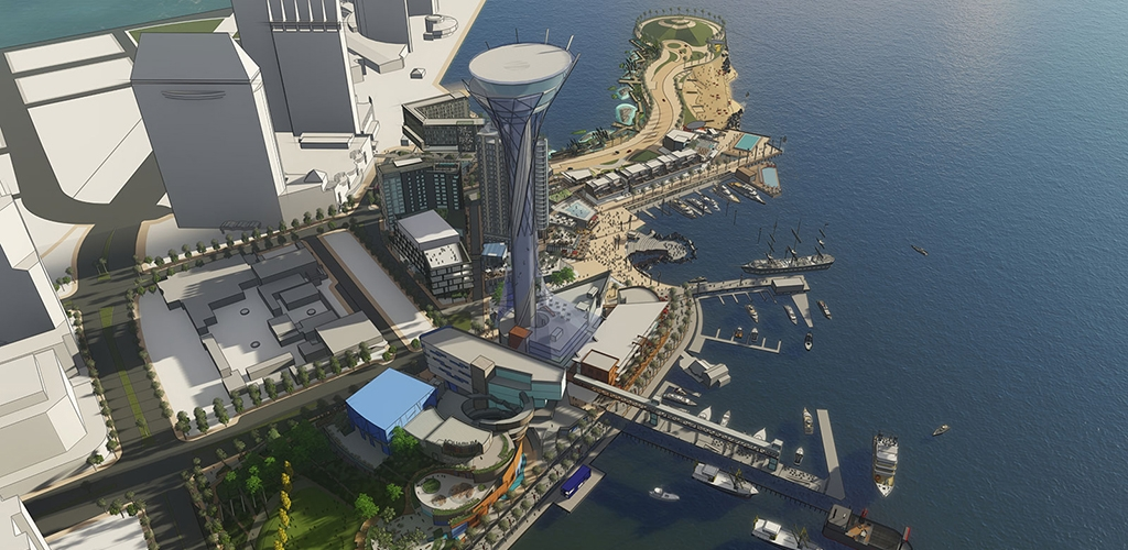 Slideshow image for Seaport San Diego Shared Parking Analysis and Study