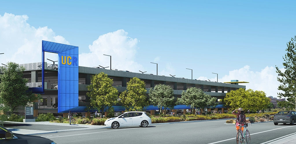 Slideshow image for UC Riverside Parking Structure 1