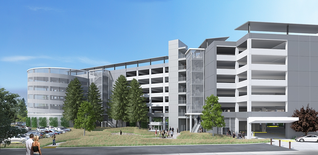 Slideshow image for San Mateo County Government Center Parking Structure