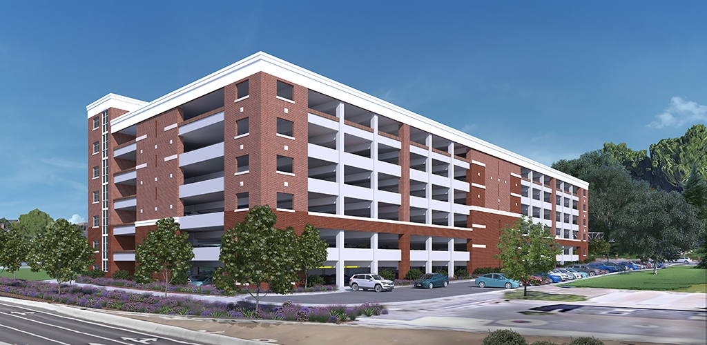 Slideshow image for University of Nevada, Reno Gateway Parking Structure