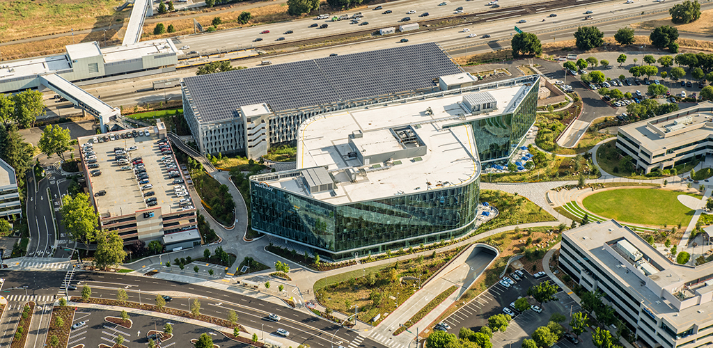 Slideshow image for Workday Corporate Campus Parking Structure